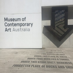 The Museum of Contemporary Art Australia!