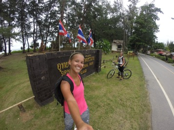 We made it to Sirat National Park....what a bike ride that was....