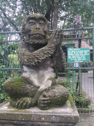 Monkey Forest entrance!
