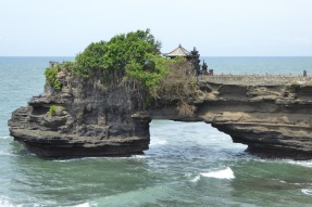 Tanah Lot's secondary temple