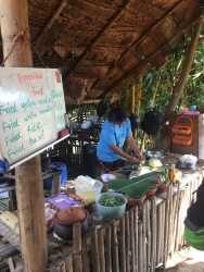 Homemade Pad Thai at the Conserve Natural Forest - so yummy ad the best part was that it was only 50 Baht ($1)!