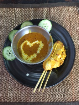 Chicken Satay = LOVE