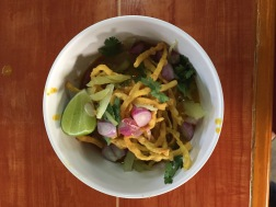 Khaw Soi Curry with Chiang Mai Noodles