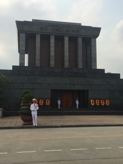 Guards are in front of the Mausoleum 24/7