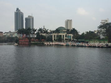 View of the Hoan Kiem Lake
