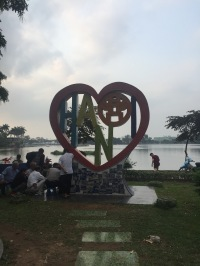 Cute sculptures I found while walking around the Hoan Kiem Lake