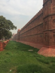 Just to add some perception of how large the Red Fort is