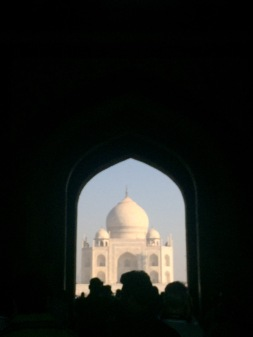 Breathtaking even before I step outside of the Great Gate