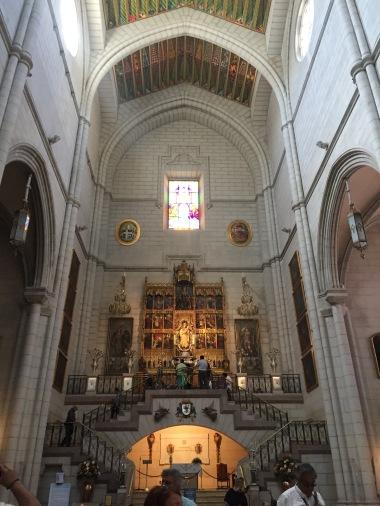 La Almudena church