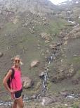 The natural waterfalls!