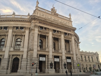 Gorgeous, intricate buildings in Vienna