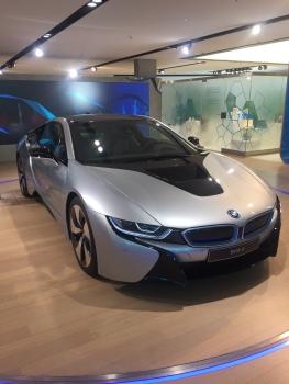 BMW new electric sports car.