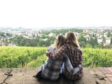 Overlooking Weisbaden with Vivi <3