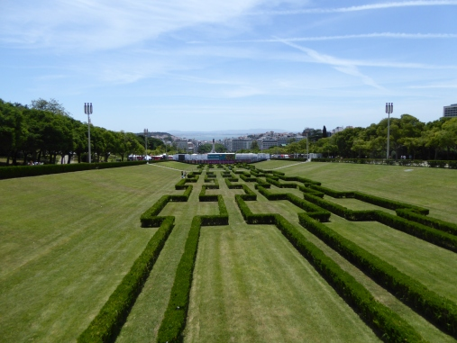 The gorgeous gardens of Lisbon